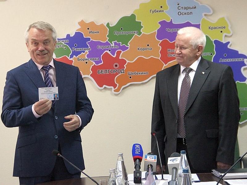 Евгений Савченко зарегистрирован вкачестве кандидата надолжность губернатора Белгородской области